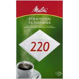 Pyramiden-Filterpapier PA SF 220G - 100 Stück