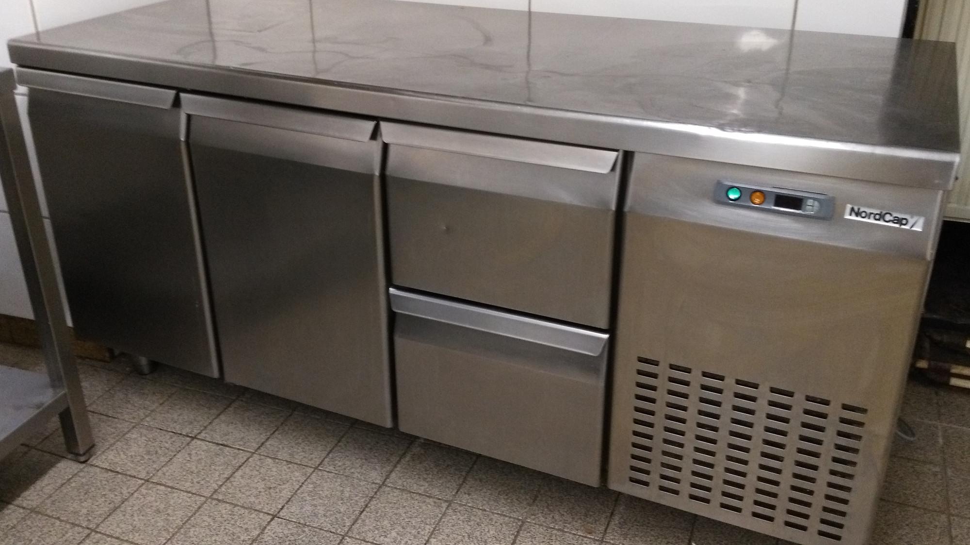 NordCap – Umluft Kühltisch, steckerfertig, gebraucht / nur